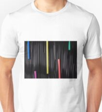 Abstract Straws T-Shirt
