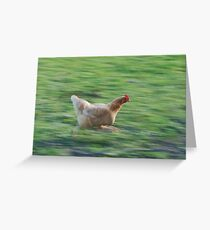 gtg chicken Greeting Card