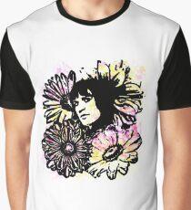 """Vince Precious Flower"" Graphic T-Shirt"
