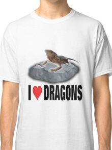 I Love Dragons Classic T-Shirt
