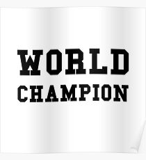 World Champion Poster