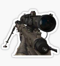 Pegatina pistola trickshot