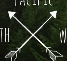 Pacific North West Oregon Sticker