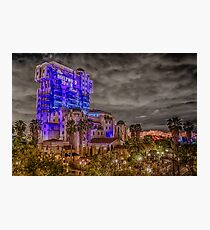 Tower of Terror California Adventure Photographic Print