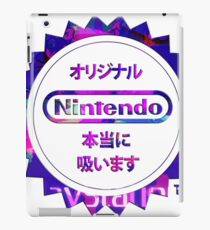Vaporwave Nintendo iPad Case/Skin