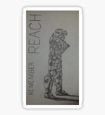Remember Reach  Sticker