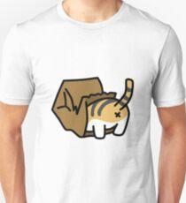 Cat in Paper Bag Unisex T-Shirt