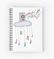 Life of Music Spiral Notebook