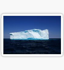 Iceberg near to the west coasts of Greenland Sticker