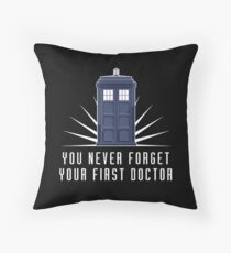 Dr Who Throw Pillow