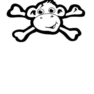 Pirate Monkey by shcott