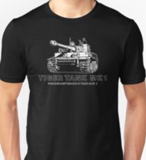 Tiger Tank Mark 1 Unisex T-Shirt
