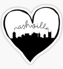 Nashville City Love Sticker