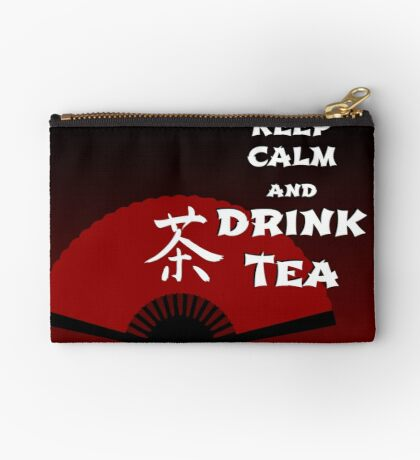 Keep Calm and Drink Tea - dark asia edition Studio Pouch