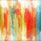 Colorful Painted Wood Grain Background by Nhan Ngo