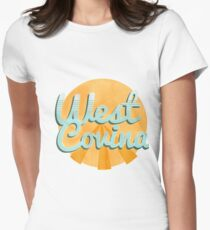 west covina cali Women's Fitted T-Shirt