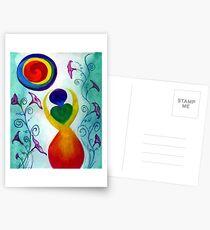 Chakra Angel Postcards