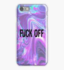 FUCK OFF iPhone Case/Skin