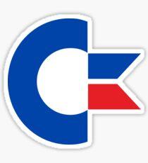 Commodore's C= chicken head logo Sticker