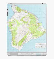 USGS TOPO Map Hawaii HI Hawaii 349916 1975 250000 iPad Case/Skin