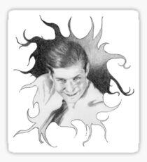 Crispin Hellion Glover Sticker