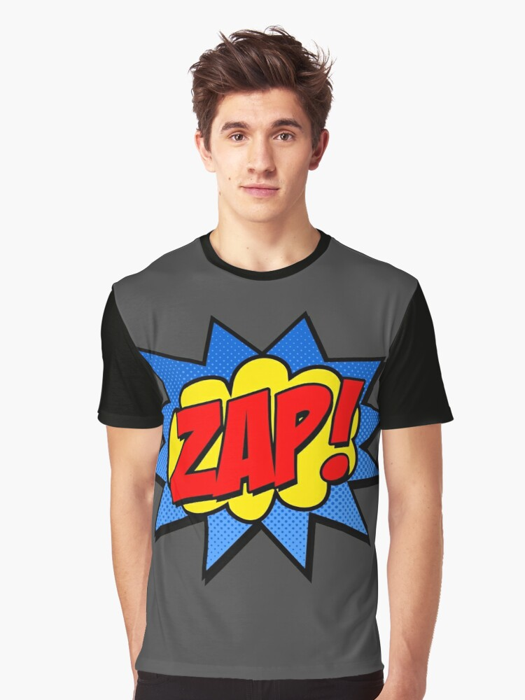 Zap! Graphic T-Shirt Front