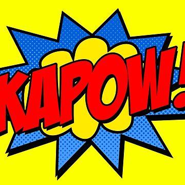 Kapow! by stuartist