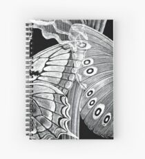 Butterfly Etchings Spiral Notebook