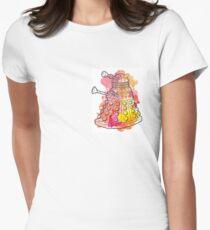 Dalek Watercolour Women's Fitted T-Shirt