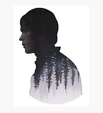 Bellamy - The 100 - Forest  Photographic Print