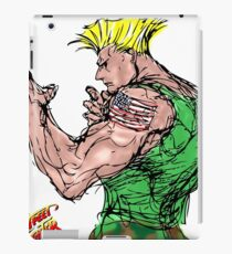 Streetfighter 2 Guile iPad Case/Skin