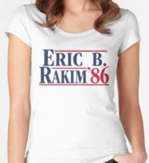 Eric B. for president Women's Fitted Scoop T-Shirt