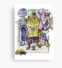 Dragonball Bob Z Canvas Print