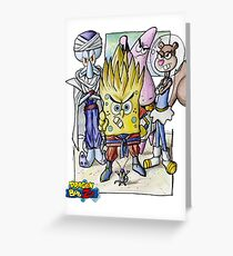Dragonball Bob Z Greeting Card