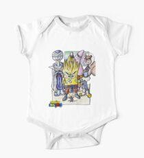 Dragonball Bob Z Baby Body Kurzarm