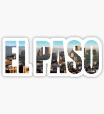 El Paso Sticker