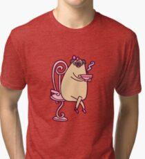 Luxurious Pug Tri-blend T-Shirt