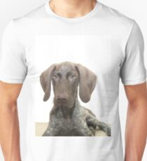 Glossy Grizzly German Shorthaired Pointer T-Shirt