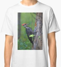Pileated Woodpecker Portrait Classic T-Shirt
