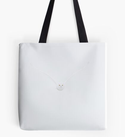 Ghost Owl - Snowy Owl Tote Bag