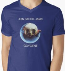 Jean-Michel Jarre - Oxygène Men's V-Neck T-Shirt