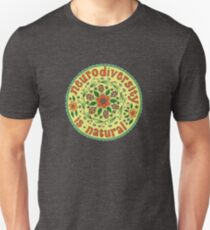Neurodiversity Mandala  Unisex T-Shirt