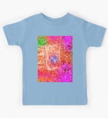 Colourful Abstract Texture Kids Tee
