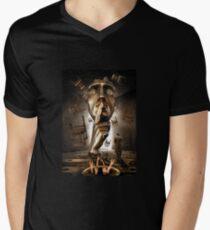 Concentration Mens V-Neck T-Shirt