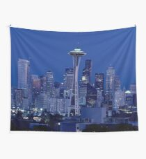 Seattle Washington Wall Tapestry
