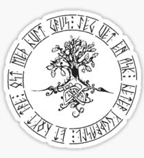 Yggdrasil- Norse tree of life  Sticker