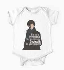 Sherlock - Psychopath/ Sociopath Kids Clothes