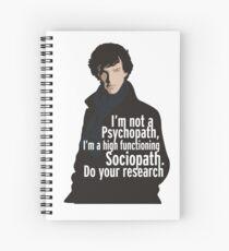 Sherlock - Psychopath / Soziopath Spiralblock