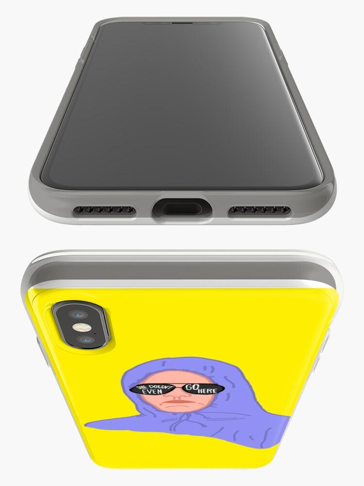 Alternative Ansicht von Mittlere Mädchen Damian iPhone-Hüllen & Cover