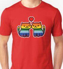 Neko Atsume Gay Pride Merch Unisex T-Shirt